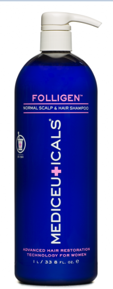 Mediceuticals Folligen Normal Scalp & Hair Shampoo 33.8oz