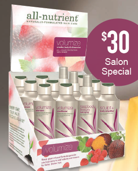 All Nutrient Volumize Salon Special