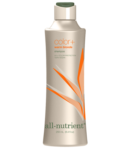 All-Nutrient Warm Blonde Color+Shampoo