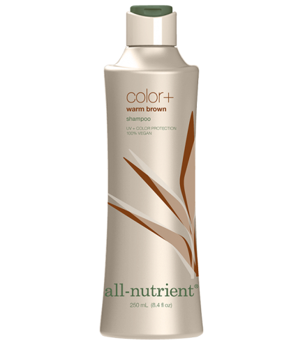 All-Nutrient Cool Brown Color+Shampoo