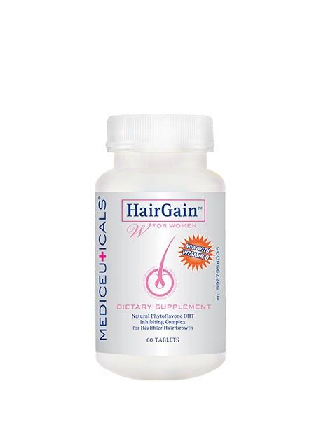 Mediceuticals HairGain Nutritional Supplement (30 day supply) Women