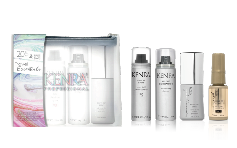 Kenra Travel Bag Essentials