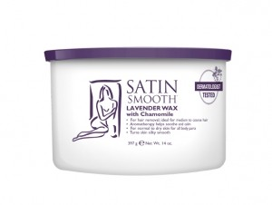 Satin Smooth Lavender Wax w/Chamomile