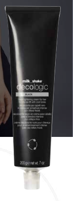 Milk Shake Decologic Black Cream