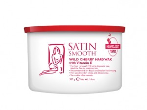 Satin Smooth Wild Cherry Hard Wax