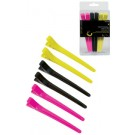 6 Pk Professional Hair Clips